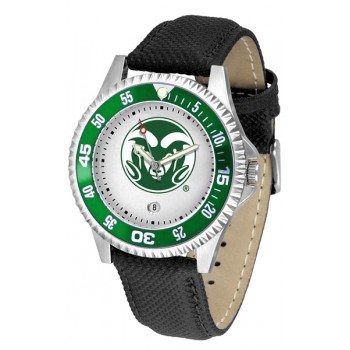 Colorado State University Rams Mens Watch - Competitor Poly/Leather Band