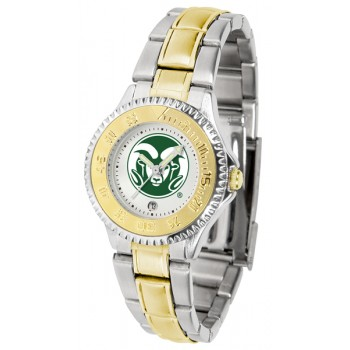 Colorado State University Rams Ladies Watch - Competitor Two-Tone