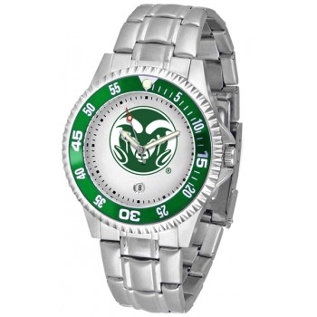 Colorado State University Rams Mens Watch - Competitor Steel Band