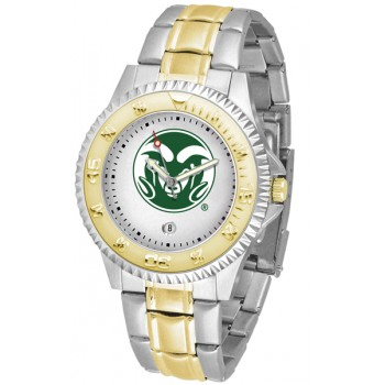 Colorado State University Rams Mens Watch - Competitor Two-Tone