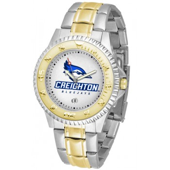 Creighton University Bluejays Mens Watch - Competitor Two-Tone