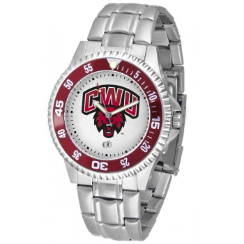 Central Washington University Wildcats Mens Watch - Competitor Steel Band