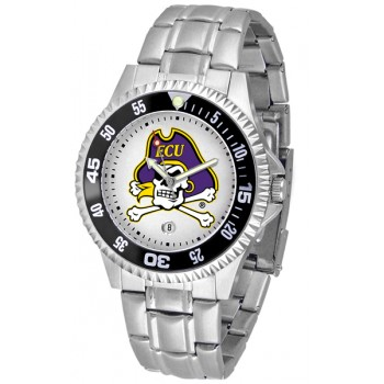 East Carolina University Pirates Mens Watch - Competitor Steel Band