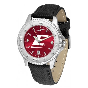 Eastern Kentucky University Colonels Mens Watch - Competitor Anochrome Poly/Leather Band