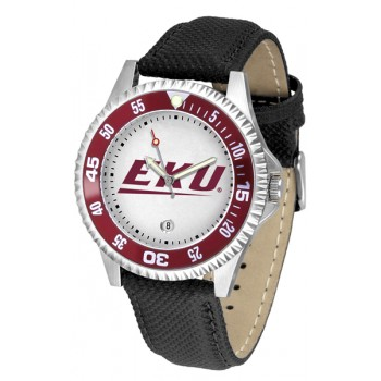 Eastern Kentucky University Colonels Mens Watch - Competitor Poly/Leather Band