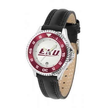 Eastern Kentucky University Colonels Ladies Watch - Competitor Poly/Leather Band