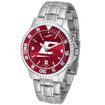 Eastern Kentucky University Colonels Mens Watch - Competitor Anochrome - Colored Bezel - Steel Band