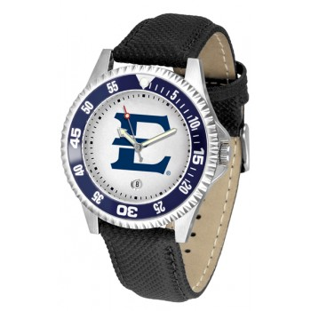 East Tennessee State University Buccaneers Mens Watch - Competitor Poly/Leather Band