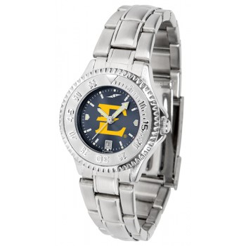 East Tennessee State University Buccaneers Ladies Watch - Competitor Anochrome Steel Band