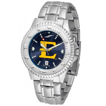 East Tennessee State University Buccaneers Mens Watch - Competitor Anochrome Steel Band