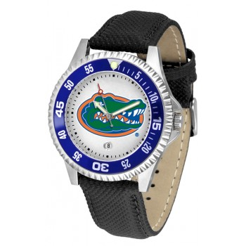 University Of Florida Gators Mens Watch - Competitor Poly/Leather Band