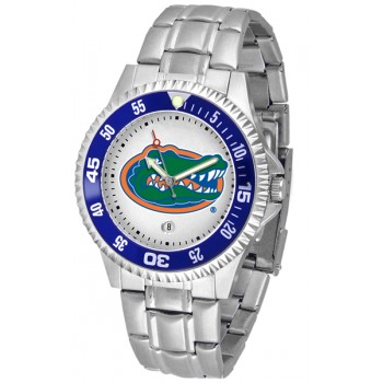 University Of Florida Gators Mens Watch - Competitor Steel Band