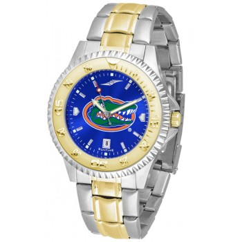 University Of Florida Gators Mens Watch - Competitor Anochrome Two-Tone