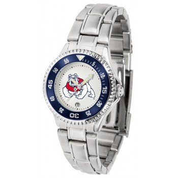 Fresno State Bulldogs Ladies Watch - Competitor Steel Band