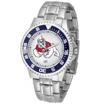 Fresno State Bulldogs Mens Watch - Competitor Steel Band