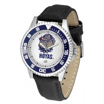 Georgetown University Hoyas Mens Watch - Competitor Poly/Leather Band