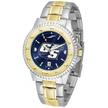 Georgia Southern University Eagles Mens Watch - Competitor Anochrome Two-Tone
