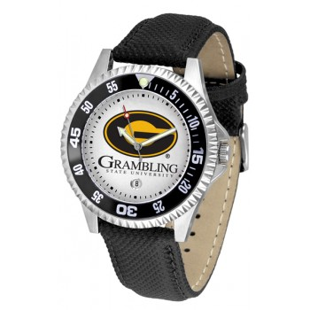 Grambling State University Tigers Mens Watch - Competitor Poly/Leather Band