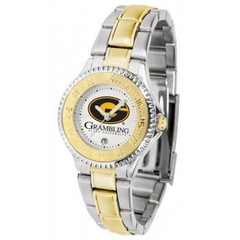 Grambling State University Tigers Ladies Watch - Competitor Two-Tone
