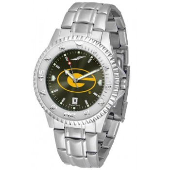 Grambling State University Tigers Mens Watch - Competitor Anochrome Steel Band