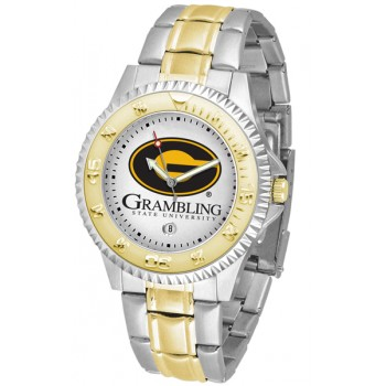 Grambling State University Tigers Mens Watch - Competitor Two-Tone