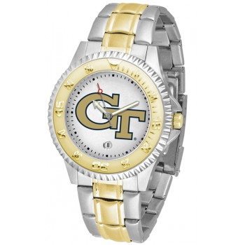 Georgia Institute Of Technology Yellow Jackets Mens Watch - Competitor Two-Tone