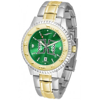 University Of Hawaii Mens Watch - Competitor Anochrome Two-Tone