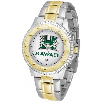 University Of Hawaii Mens Watch - Competitor Two-Tone