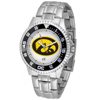 University Of Iowa Hawkeyes Mens Watch - Competitor Steel Band