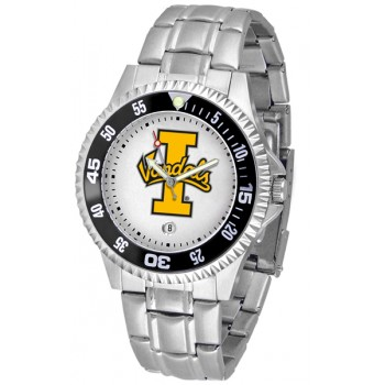 University Of Idaho Vandals Mens Watch - Competitor Steel Band