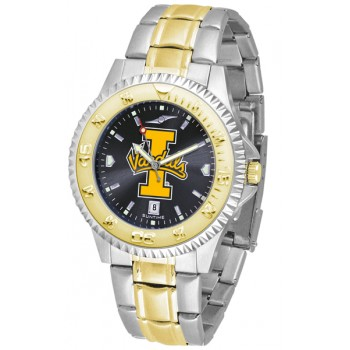 University Of Idaho Vandals Mens Watch - Competitor Anochrome Two-Tone
