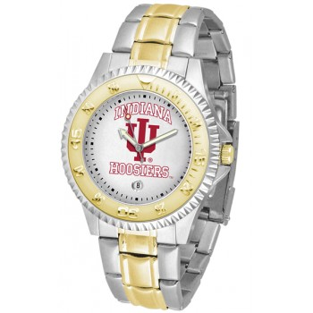 Indiana University Hoosiers Mens Watch - Competitor Two-Tone