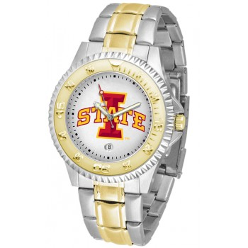 Iowa State University Cyclones Mens Watch - Competitor Two-Tone