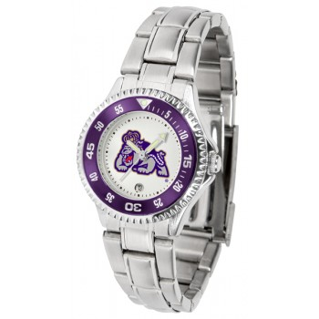 James Madison University Dukes Ladies Watch - Competitor Steel Band