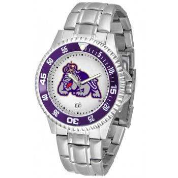 James Madison University Dukes Mens Watch - Competitor Steel Band