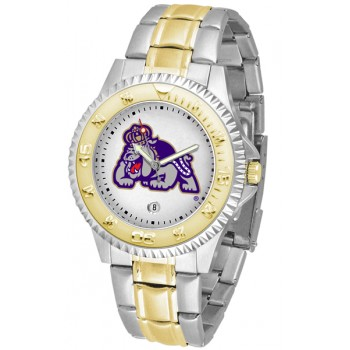James Madison University Dukes Mens Watch - Competitor Two-Tone