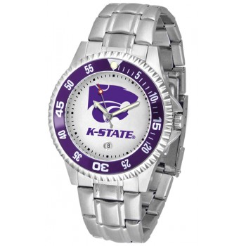 Kansas State University Wildcats Mens Watch - Competitor Steel Band
