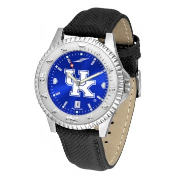 University Of Kentucky Wildcats Mens Watch - Competitor Anochrome Poly/Leather Band