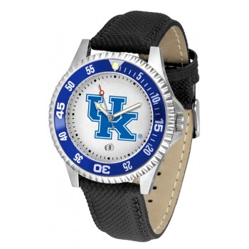 University Of Kentucky Wildcats Mens Watch - Competitor Poly/Leather Band