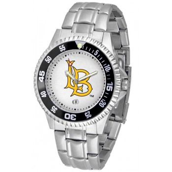 California State University Long Beach Mens Watch - Competitor Steel Band