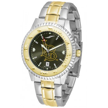 California State University Long Beach Mens Watch - Competitor Anochrome Two-Tone