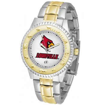 University Of Louisville Cardinals Mens Watch - Competitor Two-Tone