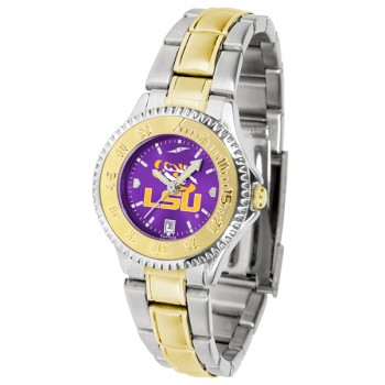 Louisiana State University Tigers Ladies Watch - Competitor Anochrome Two-Tone
