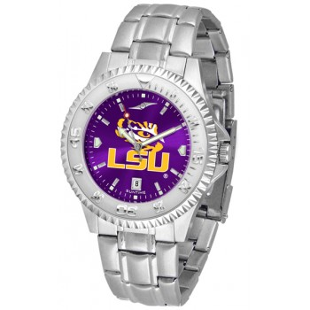Louisiana State University Tigers Mens Watch - Competitor Anochrome Steel Band