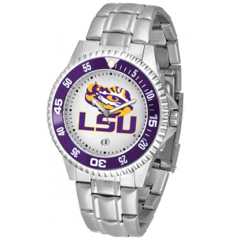 Louisiana State University Tigers Mens Watch - Competitor Steel Band