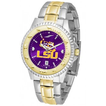Louisiana State University Tigers Mens Watch - Competitor Anochrome Two-Tone