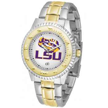 Louisiana State University Tigers Mens Watch - Competitor Two-Tone
