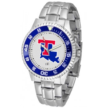 Louisiana Tech University Mens Watch - Competitor Steel Band