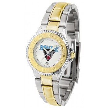 University Of Maine Black Bears Ladies Watch - Competitor Two-Tone