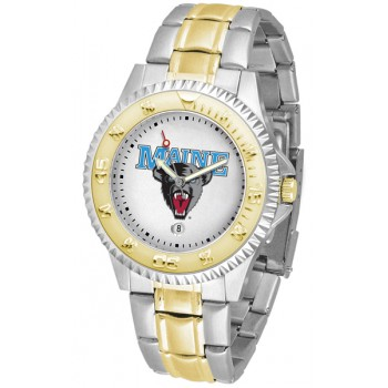 University Of Maine Black Bears Mens Watch - Competitor Two-Tone